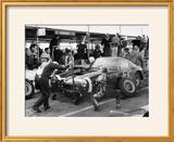 Stirling Moss in a Ferrari  Goodwood  1961