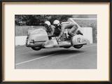 Sidecar TT Race  Isle of Man  1970