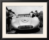 Mercedes Streamliner Car at Avus Motor Racing Circuit  Berlin  Germany  C1937