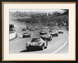 Start of the Le Mans 24 Hours  France  1964
