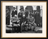 Conference of the Allied Leaders  Yalta  Crimea  USSR  February 1945