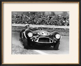 Stirling Moss Diving an Aston Martin DB3S  Goodwood  West Sussex  1956