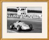 Dan Gurney Driving a Porsche  French Grand Prix  Rheims  1961