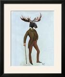 Moose in Suit Full