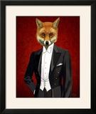 Fox in Evening Suit Portrait