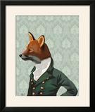 Dandy Fox Portrait