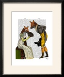 Foxes Courting