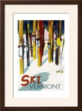 Vermont - Colorful Skis
