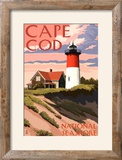 Cape Cod National Seashore - Nauset Light and Sunset