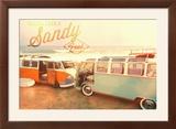 Peace  Love  and Sandy Feets on Beach