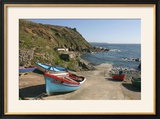 Boats on the Slipway at Cape Cornwall  Cornwall