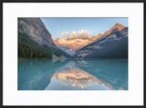 Canada  Banff NP  Lake Louise  Mount Victoria and Victoria Glaciers