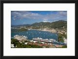 Charlotte Amalie Harbor  Paradise Point  St Thomas  Us Virgin Islands
