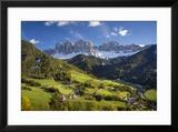 Val di Funes  Santa Maddalena  Dolomites  Trentino-Alto-Adige  Italy