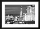 USA  Nevada  Las Vegas City Buildings at Night