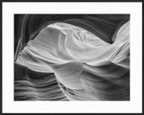 Overhang Lower Antelope Canyon  Page  Arizona  USA