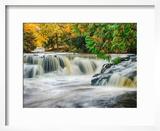 Michigan  Upper Peninsula Bond Falls on the Ontonagon River