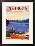 Michigan - Canoe and Lake