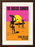 Long Beach  California - the Endless Summer - Original Movie Poster