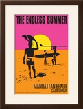 Manhattan Beach  California - the Endless Summer - Original Movie Poster