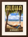 Kauai  Hawaii - Hammock Scene
