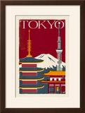 Tokyo - Woodblock