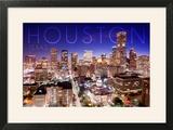 Houston  Texas - Skyline at Night