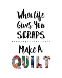 When Life Gives You Scraps - White