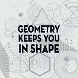Geometry Keeps You In Shape Light Pattern