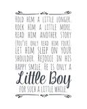 Hold Him A Little Longer - White