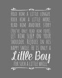 Hold Him A Little Longer - Gray