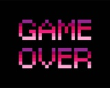 Game Over - Purple
