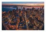 Morning Look Down San Francisco