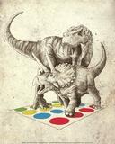 The Ultimate Battle Reproduction d'art par Michael Buxton