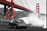 Under the Golden Gate Bridge  San Francisco (BW)