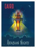 Cairo Egypt - The Arabian Nights - One Thousand and One Nights - Aladdin's Magic Lamp