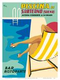 Sarteano Swimming Pool Resort - Siena  Italy - Bar Restaurant (Ristorante)