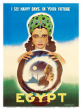 Egypt - I See Happy Days in Your Future - Egyptian Fortune Teller