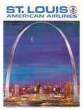 St Louis Missouri - The Gateway Arch - American Airlines