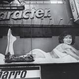 Times Square Billboard Woman