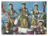 Hawaiian Hula Dancers