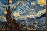 Starry Night  c 1889
