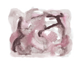 Abstract Medley - Blush Giclée par Kim Johnson
