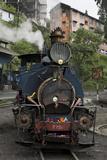 The 779 B Class Himalayan Bird Train Arriving In Darjeeling