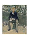 George Moore in the Artist's Garden  c1879