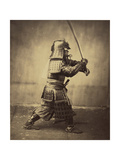 Japanese Warrior in Armour  1865-7