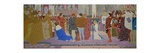 The Crowning at Reims of the Dauphin  from Joan of Arc Series E  1907
