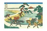 Village of Sekiya at Sumida River  c1830