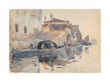 Canal Scene  Ponte Panada  Fondamenta Nuove  Venice  c1880-82