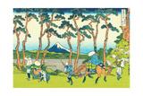 Hodogaya on the Tokaido  c1830